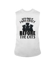 I WAS CRAZY BEFORE THE CATS Sleeveless Tee thumbnail