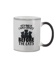 I WAS CRAZY BEFORE THE CATS Color Changing Mug thumbnail