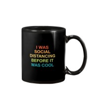 I WAS SOCIAL DISTANCING BEFORE IT WAS COOL Mug tile