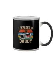 LEVELED UP TO DADDY Color Changing Mug thumbnail
