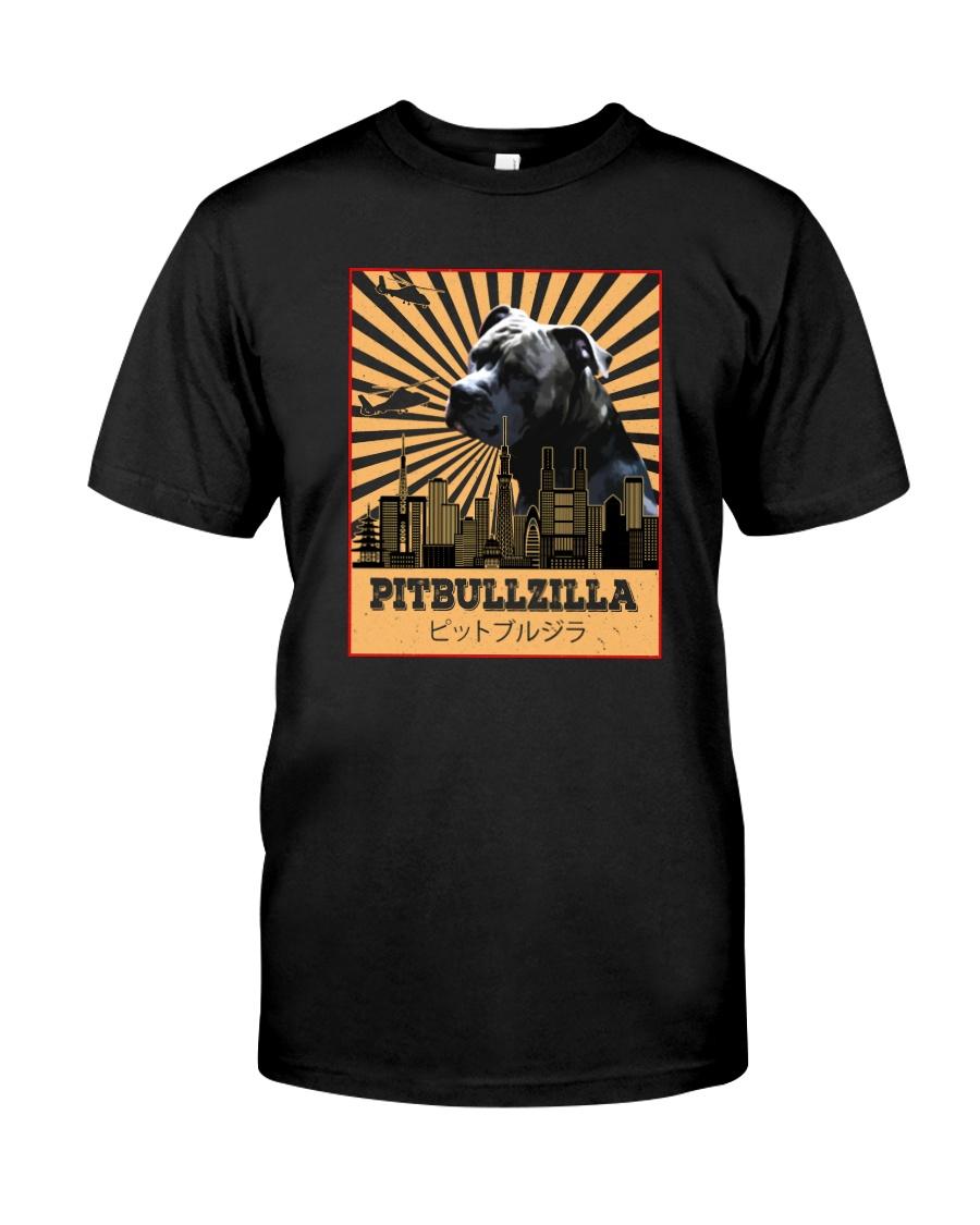 PITBULLZILLA Classic T-Shirt