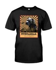 PITBULLZILLA Classic T-Shirt front