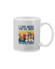 I LIKE BEER AND MY DOGS Mug thumbnail