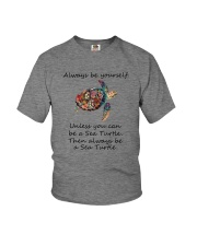 UNLESS YOU CAN BE A SEA TURTLE BE A SEA TURTLE Youth T-Shirt thumbnail