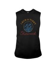 I RUN A TIGHT SHIPWRECK Sleeveless Tee thumbnail