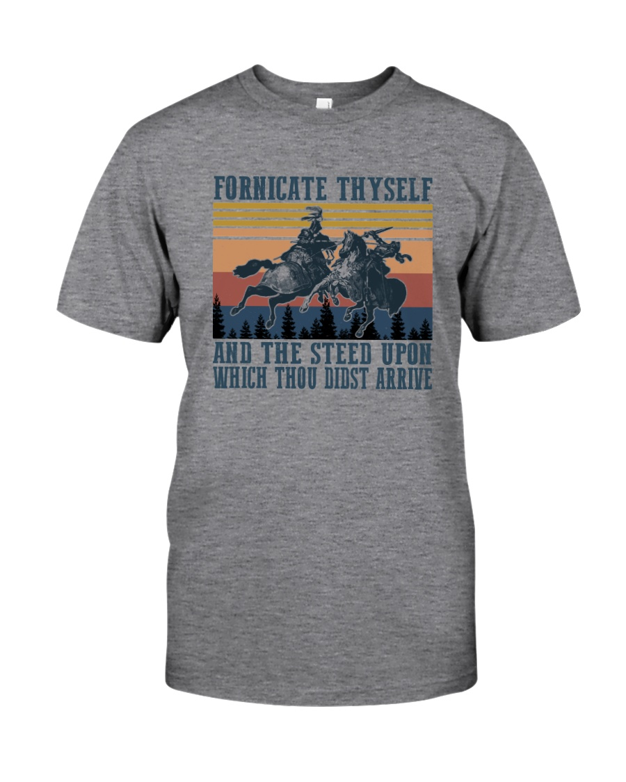 AND THE STEED UPON WHICH THOU DIDST ARRIVE Classic T-Shirt
