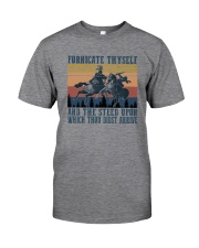 AND THE STEED UPON WHICH THOU DIDST ARRIVE Classic T-Shirt front