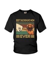 BEST Dachshund MOM EVER Youth T-Shirt thumbnail