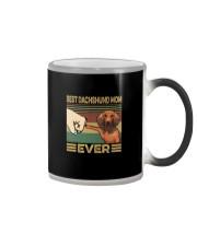 BEST Dachshund MOM EVER Color Changing Mug thumbnail