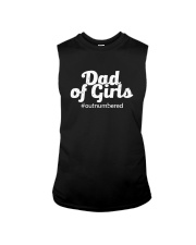 DAD OF GIRLS OUTNUMBERED Sleeveless Tee thumbnail