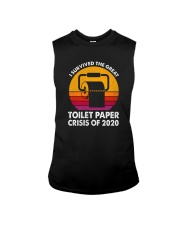 THE GREAT TOILET PAPER CRISIS OF 2020 Sleeveless Tee thumbnail