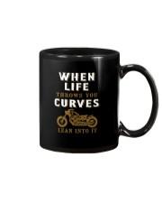 WHEN LIFE THROWS YOU CURVES Mug thumbnail