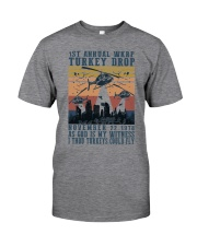 TURKEY DROP Classic T-Shirt front