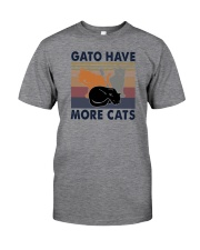 GATO HAVE MORE CATS Classic T-Shirt front