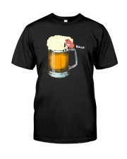 FUNNY SHEEP BEER Classic T-Shirt front