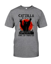 CATZILLA KING OF PAWSTER Classic T-Shirt front
