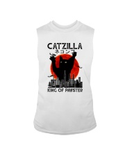 CATZILLA KING OF PAWSTER Sleeveless Tee thumbnail