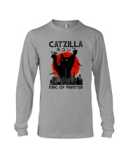 CATZILLA KING OF PAWSTER Long Sleeve Tee thumbnail