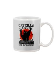 CATZILLA KING OF PAWSTER Mug thumbnail