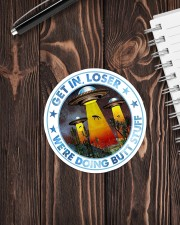 GET IN LOSER Sticker - Single (Vertical) aos-sticker-single-vertical-lifestyle-front-05