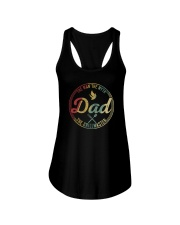 THE MAN THE MYTH THE GRILLMASTER PAPA Ladies Flowy Tank thumbnail