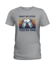SHUT UP LIVE YOU'RE FINE Ladies T-Shirt thumbnail