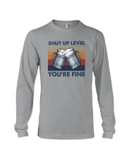 SHUT UP LIVE YOU'RE FINE Long Sleeve Tee tile