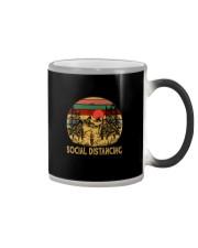 HIKING SOCIAL DISTANCING Color Changing Mug thumbnail