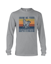 SHOW ME YOUR PITTIES Long Sleeve Tee thumbnail