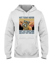 NOT TODAY HEIFER NOT MY PASTURE a Hooded Sweatshirt thumbnail