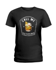 CALL ME OLD FASHIONED Ladies T-Shirt thumbnail
