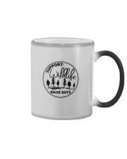 SUPPORT WILDLIFE RAISE BOYS Color Changing Mug thumbnail