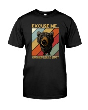 EXCUSE ME BEAR Classic T-Shirt front