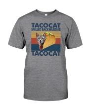 TACOCAT SPELLED BACKWARDS IS TACOCAT Classic T-Shirt front