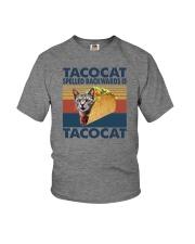 TACOCAT SPELLED BACKWARDS IS TACOCAT Youth T-Shirt thumbnail