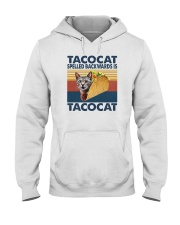TACOCAT SPELLED BACKWARDS IS TACOCAT Hooded Sweatshirt thumbnail
