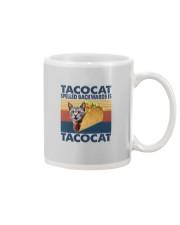 TACOCAT SPELLED BACKWARDS IS TACOCAT Mug thumbnail
