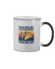 TACOCAT SPELLED BACKWARDS IS TACOCAT Color Changing Mug thumbnail