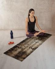 MUSICAL NOTE YOGA Yoga Mat 70x24 (horizontal) aos-yoga-mat-lifestyle-18