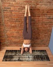 MUSICAL NOTE YOGA Yoga Mat 70x24 (horizontal) aos-yoga-mat-lifestyle-20