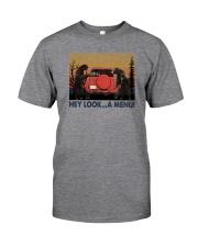 HEY LOOK A MENU Classic T-Shirt front