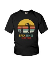 BACK NINES MATTER Youth T-Shirt thumbnail