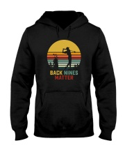 BACK NINES MATTER Hooded Sweatshirt tile
