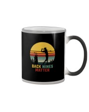 BACK NINES MATTER Color Changing Mug thumbnail