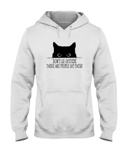 DON'T GO OUTSIDE PEOPLE OUT THERE Hooded Sweatshirt thumbnail