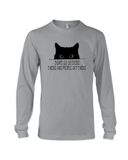 DON'T GO OUTSIDE PEOPLE OUT THERE Long Sleeve Tee thumbnail