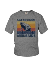 SAVE THE CHUBBY MERMAIDS Youth T-Shirt tile