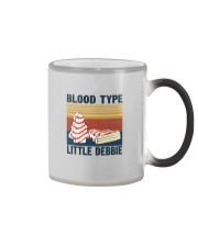 BLOOD TYPE LITTLE DEBBIE Color Changing Mug thumbnail