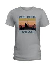 REEL COOL PAPA Ladies T-Shirt thumbnail