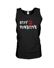 STAY PAWSITIVE Unisex Tank thumbnail